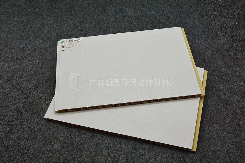 300平面板V缝-天使白